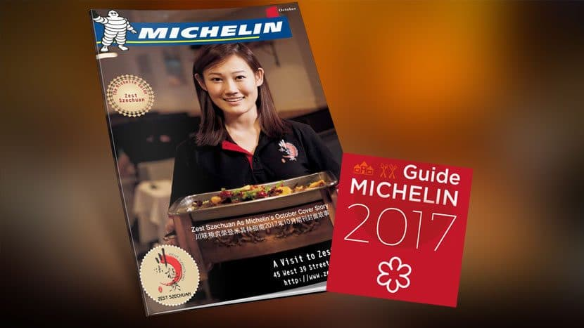 Zest Szechuan as Michelin's October Cover Story